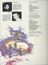 Verso de Comanche -7b1983- Le doigt du diable