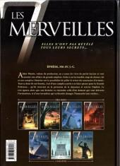 Verso de Les 7 merveilles -4- Le Temple d'Artémis - 356 av. J.-C.