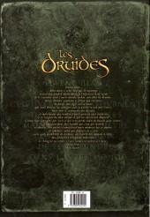 Verso de Les druides -8- Les Secrets d'Orient