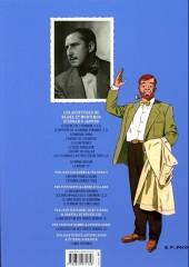 Verso de Blake et Mortimer (Les Aventures de) -3d2014- Le Secret de l'Espadon - Tome 3