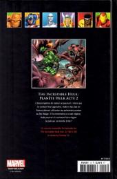 Verso de Marvel Comics - La collection (Hachette) -1519- The Incredible Hulk - Planète Hulk acte 2