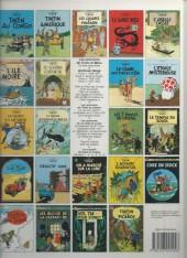 Verso de Tintin (Historique) -5C6bis- Le lotus bleu