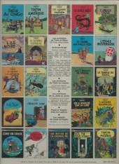 Verso de Tintin (Historique) -13C4- Les 7 boules de cristal