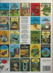 Verso de Tintin (Historique) -13C7- Les 7 boules de cristal