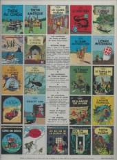 Verso de Tintin (Historique) -14C3bis- Le temple du soleil