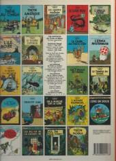 Verso de Tintin (Historique) -14C6bis- Le temple du soleil