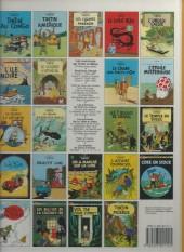 Verso de Tintin (Historique) -15C7- Au pays de l'or noir