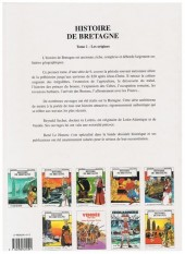 Verso de Histoire de Bretagne -1a- De la terre des pierres à la terre des bretons