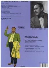 Verso de Blake et Mortimer (Les Aventures de) -11b2005- Les 3 formules du Professeur Satô - Tome 1