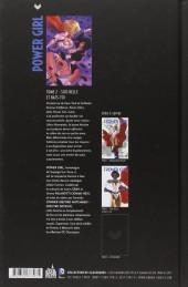 Verso de Power Girl (Urban Comics) -2- Sois belle et bats-toi