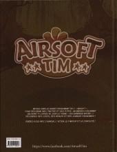 Verso de Airsoft Tim -1- Bande de billes