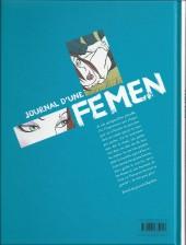 Verso de Journal d'une Femen