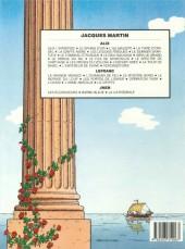 Verso de Alix -3d1985- L'île maudite