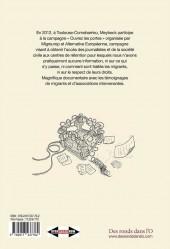 Verso de CRA (Centre de Rétention Administrative)