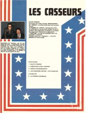 Verso de Les casseurs - Al & Brock -1a1979- Haute tension
