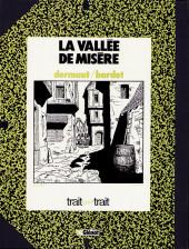 Verso de Les chemins de Malefosse -3TT- La Vallée de misère
