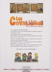 Verso de Les cavalières -2- Rendez-vous à Lamotte