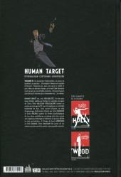 Verso de Human Target (Urban comics) -2- Tome 2