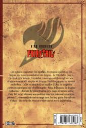 Verso de Fairy Tail -40- Tome 40