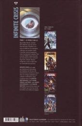 Verso de Infinite Crisis (Urban Comics) -1- Le Projet O.M.A.C.