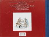 Verso de Le dernier chapitre -2- Barbe-Rouge - La marée de Saint Jean