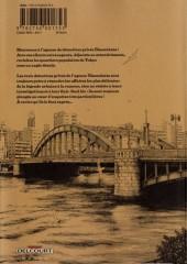 Verso de Tokyo River's Edge -1- Volume 1