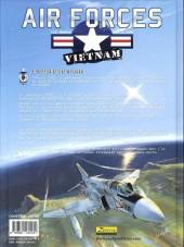 Verso de Air forces - Vietnam -4- Crusader dans la tourmente