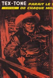 Verso de Tex-Tone -454- L'avocat ambitieux