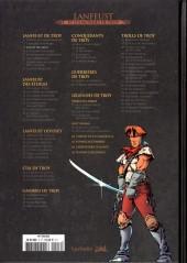Verso de Lanfeust et les mondes de Troy - La collection (Hachette) -3- Lanfeust de Troy - Castel Or-Azur