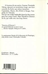 Verso de (AUT) Coelho -6- Le Viking du dernier rivage