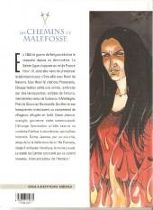 Verso de Les chemins de Malefosse -1d1997- Le diable noir