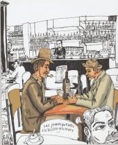 Verso de (AUT) Lolmède - Portraits de boutiques - 30 Commerces Aixois vus par Lolmède