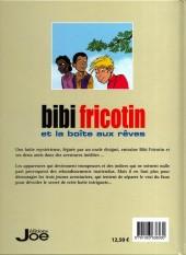 Verso de Bibi Fricotin (Éditions Joe) - Bibi Fricotin et la boîte aux rêves