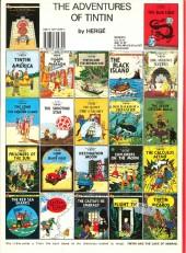 Verso de Tintin (The Adventures of) -3c1989- Tintin in America