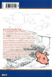 Verso de Seven Deadly Sins -5- Tome 5