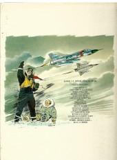 Verso de Tanguy et Laverdure -8c1976- Pirates du ciel