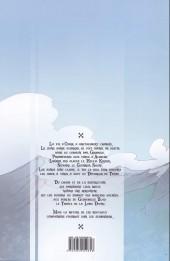 Verso de Le dévoreur de Temps -2- L'Éveil