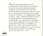 Verso de Illustré (Le Petit) (La Sirène / Soleil Productions / Elcy) - La moto verte illustrée de A à Z
