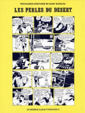 Verso de Casey Ruggles -7- La poursuite infernale