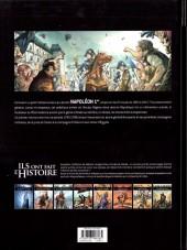 Verso de Ils ont fait l'Histoire -5- Napoléon - Tome 1/3
