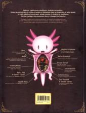 Verso de Axolot -1- Histoires extraordinaires & sources d'étonnement