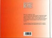 Verso de Alix et Arsénou -1- Alix et Arsénou à Rome