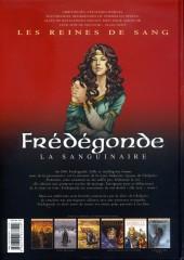Verso de Les reines de sang - Frédégonde la sanguinaire -1- Volume 1/2