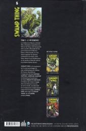 Verso de Swamp Thing (Urban Comics) -3- Le Nécromonde