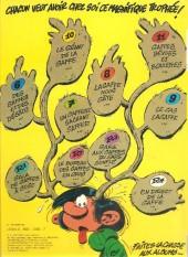 Verso de Gaston -12a1976- Le Gang des gaffeurs