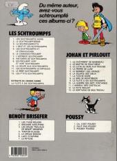 Verso de Benoît Brisefer -7a1990- Le fétiche