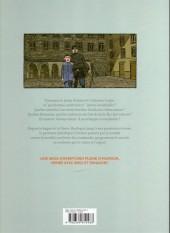 Verso de Arsène Lupin - Les origines -1- Les Disparus