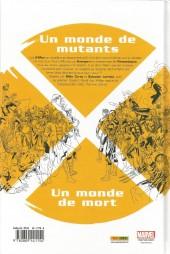 Verso de X-Men : No More Humans