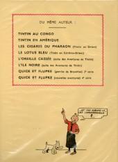 Verso de Tintin (Fac-similé N&B) -8- Le sceptre d'Ottokar