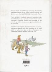 Verso de Rimes et comptines des enfants d'Alsace -a- Rimes et comptines des enfants d'alsace